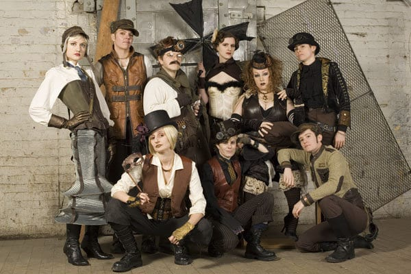 group-of-steampunkers
